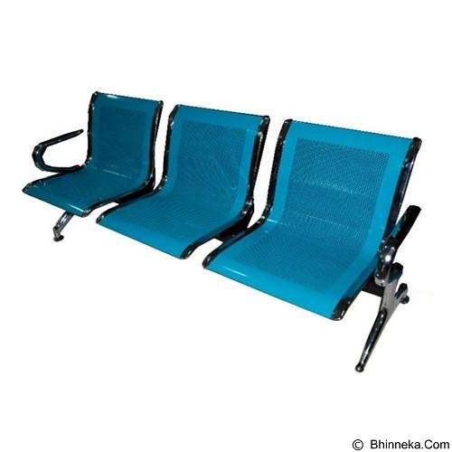 OUMA Kursi Tunggu 3 Seaters [DMS-03] (Merchant) - Kursi Tunggu