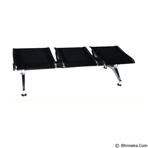 OUMA Kursi Tunggu Flat 3 Seaters [FLAT03] (Merchant) - Kursi Tunggu