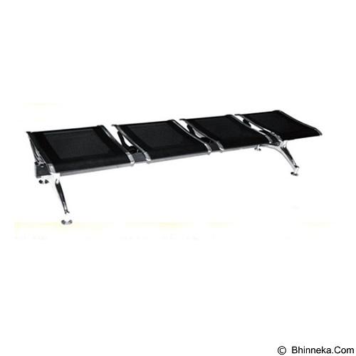 OUMA Kursi Tunggu Flat 4 Seaters [FLAT04] (Merchant) - Kursi Tunggu