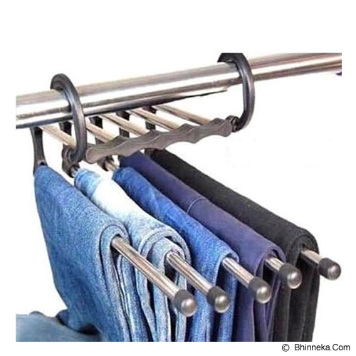 OUR CHICS SHOP 5 in 1 High Quality Pants Hanger - Gantungan Serbaguna