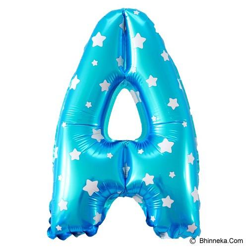 OUR DREAM PARTY Balon Huruf A - Biru - Balon