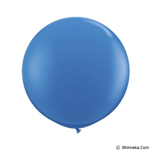 OUR DREAM PARTY Balon Jumbo 90cm - Biru - Balon