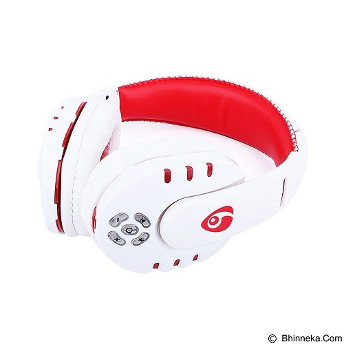 OVLENG Headphone Bluetooth with Mic Noise Canceling [V8] - White (Merchant) - Headset Bluetooth
