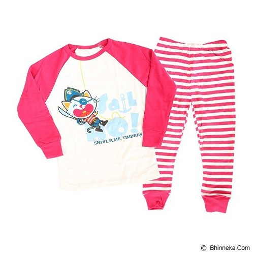 OWLIE BIRDIE Pajamas Pirate Cat Size for 3 Years [OB-p-cat] - Setelan / Set Bepergian/Pesta Bayi dan Anak