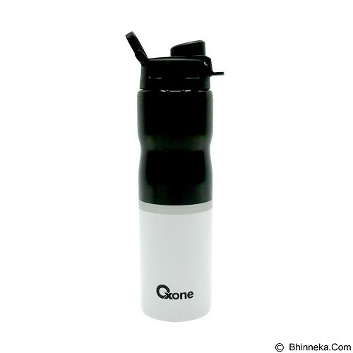 OXONE Sporty Bottle Stainless Body [OX-055-B] - Black - Botol Minum
