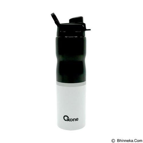 OXONE Sporty Bottle Stainless Body [OX-055-B] - Black - Botol Minum