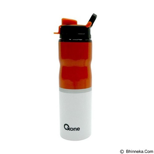 OXONE Sporty Bottle Stainless Body [OX-055-O] - Orange - Botol Minum