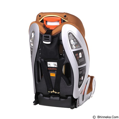 OYSTER Leo Carseat ISOFIX [OY-526] - Brown - Baby Car Seat