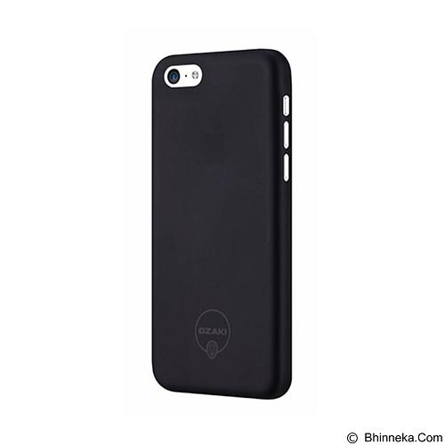 OZAKI O!Coat 0.3 Jelly Ultra Slim for iPhone 5C [OZ-OC546BK] - Black - Casing Handphone / Case