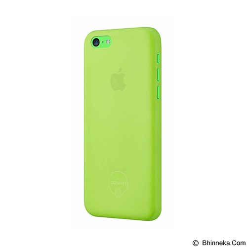 OZAKI O!Coat 0.3 Jelly Ultra Slim for iPhone 5C [OZ-OC546GN] - Green - Casing Handphone / Case