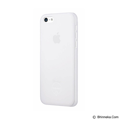 OZAKI O!Coat 0.3 Jelly Ultra Slim for iPhone 5C [OZ-OC546TR] - Transparent - Casing Handphone / Case