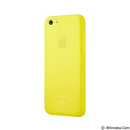 OZAKI O!Coat 0.3 Jelly Ultra Slim for iPhone 5C [OZ-OC546YL] - Yellow - Casing Handphone / Case
