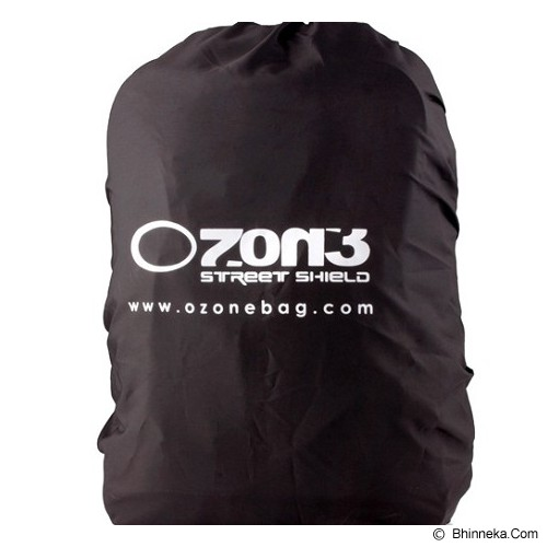 OZONE BAG Ransel Laptop 132 Vector - Hitam - Notebook Backpack