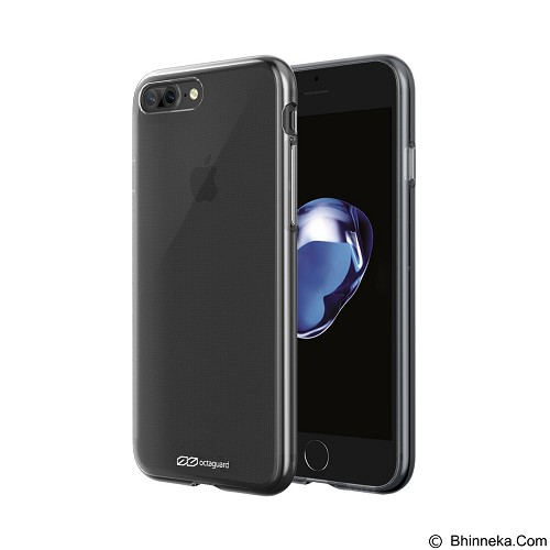 Octaguard Octa Jelly Case for iPhone 7 Plus - Clear (Merchant) - Casing Handphone / Case