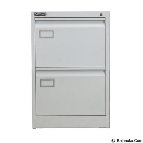 PALAZZO FURNITURE Filling Cabinet [SD A2] - Light Grey (Merchant) - Filing Cabinet / Lemari Arsip