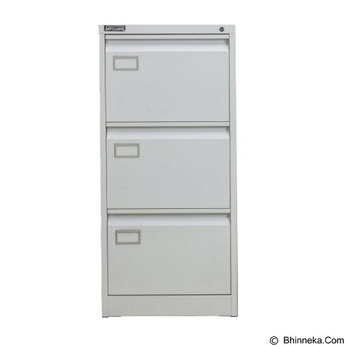 PALAZZO FURNITURE Filling Cabinet [SD A3] - Light Grey (Merchant) - Filing Cabinet / Lemari Arsip