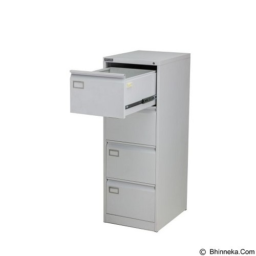PALAZZO FURNITURE Filling Cabinet [SD A4] - Light Grey (Merchant) - Filing Cabinet / Lemari Arsip