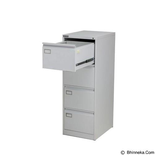 PALAZZO FURNITURE Filling Cabinet [SD A4] - Light Grey (Merchant) - Filing Cabinet / Lemari Arsip