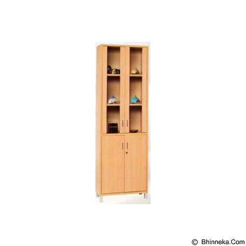 PALAZZO FURNITURE Lemari Buku [GLS 01] - Beech (Merchant) - Filing Cabinet / Lemari Arsip