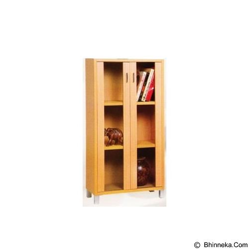 PALAZZO FURNITURE Lemari Buku [GLS 04] - Beech (Merchant) - Filing Cabinet / Lemari Arsip