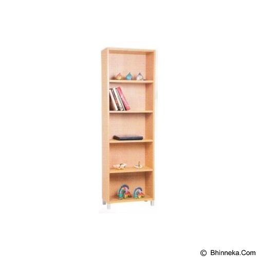 PALAZZO FURNITURE Lemari Buku [GLS 05] - Beech (Merchant) - Filing Cabinet / Lemari Arsip