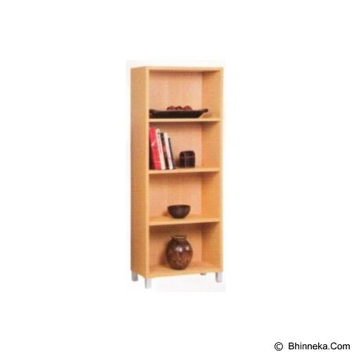 PALAZZO FURNITURE Lemari Buku [GLS 06] - Beech (Merchant) - Filing Cabinet / Lemari Arsip