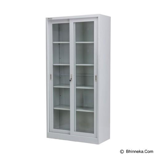 PALAZZO FURNITURE Metal Cabinet [SFC G6] - Light Grey (Merchant) - Filing Cabinet / Lemari Arsip