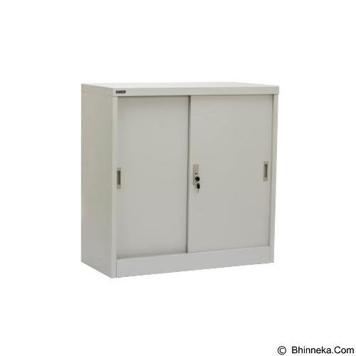 PALAZZO FURNITURE Metal Cabinet [SFC M1] - Light Grey (Merchant) - Filing Cabinet / Lemari Arsip