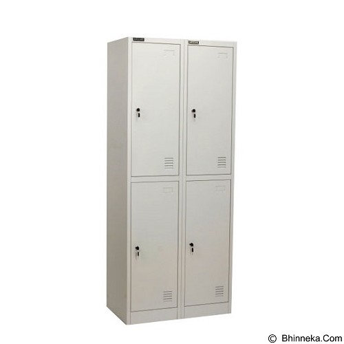 PALAZZO FURNITURE Metal Locker [SL-B2] - Light Grey (Merchant) - Drawer