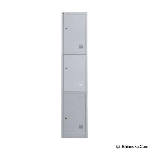 PALAZZO FURNITURE Metal Locker [SL-B3] - Light Grey (Merchant) - Drawer
