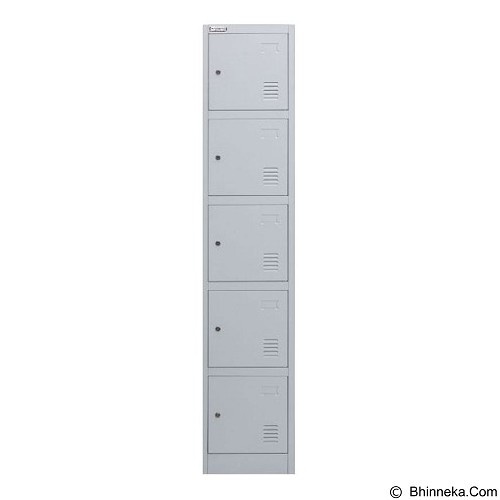 PALAZZO FURNITURE Metal Locker [SL-B5] - Light Grey (Merchant) - Drawer