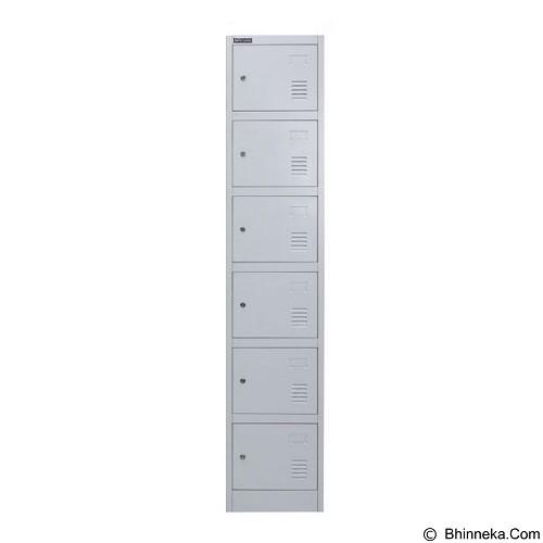 PALAZZO FURNITURE Metal Locker [SL-B6] - Light Grey (Merchant) - Drawer