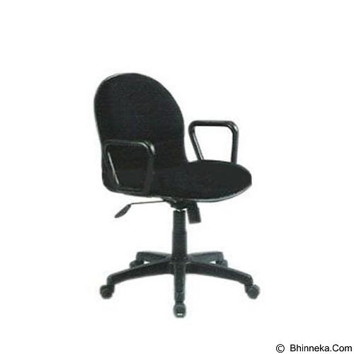 PALAZZO FURNITURE Office Chair Fantoni [F 230] - Black (Merchant) - Kursi Kantor