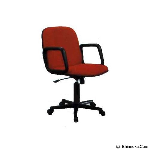 PALAZZO FURNITURE Office Chair Fantoni [F 680 HD] - Red (Merchant) - Kursi Kantor