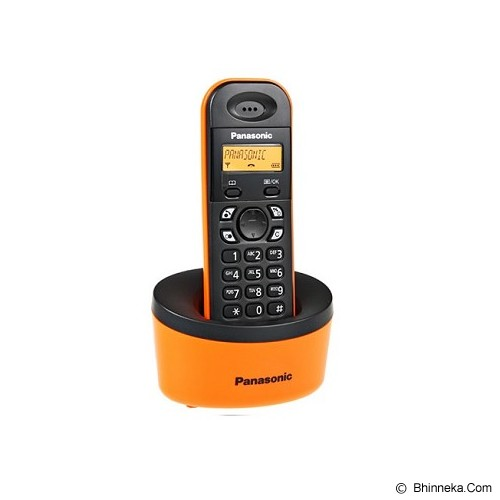PANASONIC Cordless Phone [KX-TG1311] - Orange - Wireless Phone