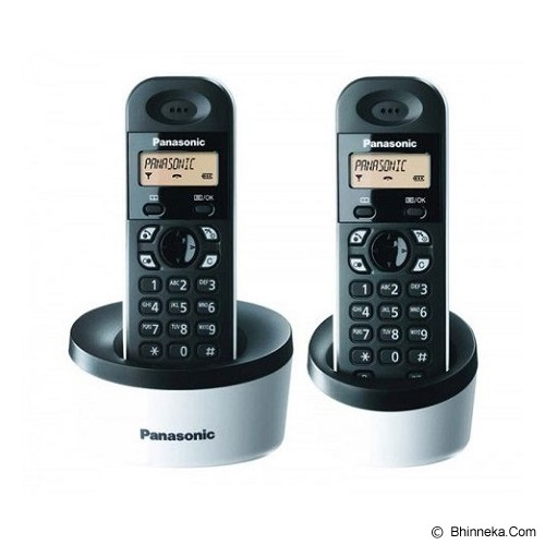 PANASONIC Cordless Phone [KX-TG1312] - Black/White - Wireless Phone