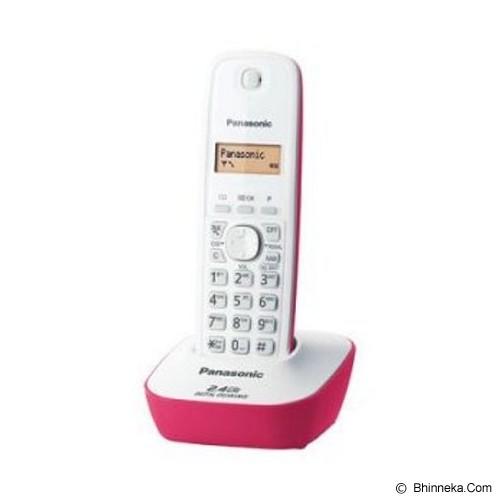 PANASONIC Cordless Phone [KX-TG3411] - White Pink - Wireless Phone