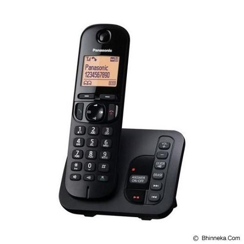 PANASONIC Cordless Phone [KX-TGC220] - Black - Wireless Phone