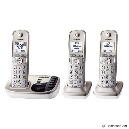 PANASONIC Cordless Phone [KX-TGD223] - Wireless Phone