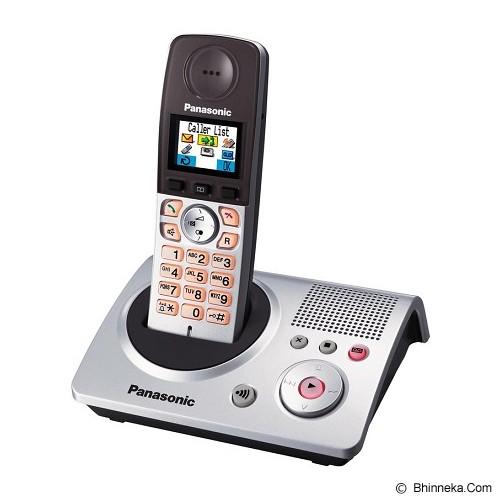 PANASONIC Cordless Telephone Wireless [KX-TG8090] - Silver - Wireless Phone