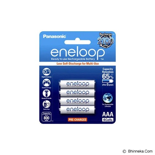 PANASONIC Eneloop AAA 800mAh BP4 - Battery and Rechargeable