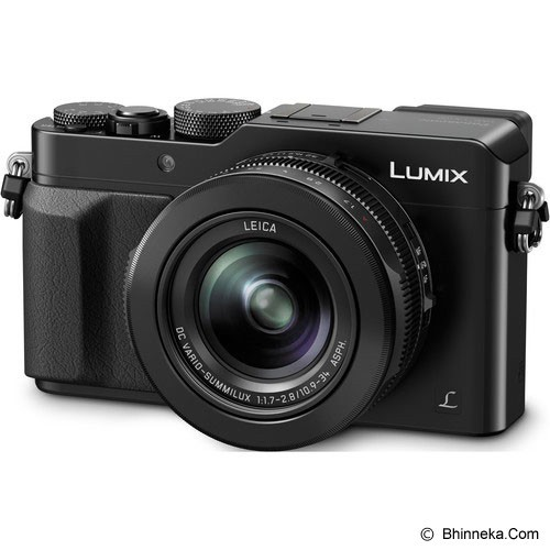 PANASONIC Lumix DMC-LX100GC - Black (Merchant) - Camera Mirrorless
