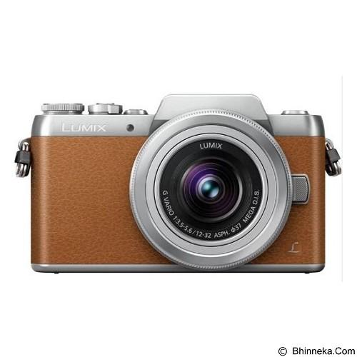 PANASONIC Lumix Mirrorless DMC-GF7K - Brown (Merchant) - Camera Mirrorless