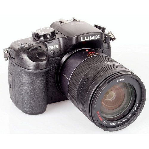 PANASONIC Lumix Mirrorless DMC-GH3HGC-K Kit1 - Camera Mirrorless