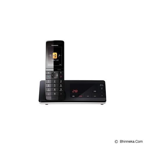 PANASONIC Premium Cordless Telephone [KX-PRW130] - Black - Wireless Phone