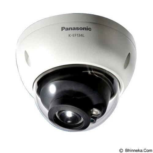 PANASONIC Weatherproof Dome Network Camera [K-EF134L01E] (Merchant) - IP Camera