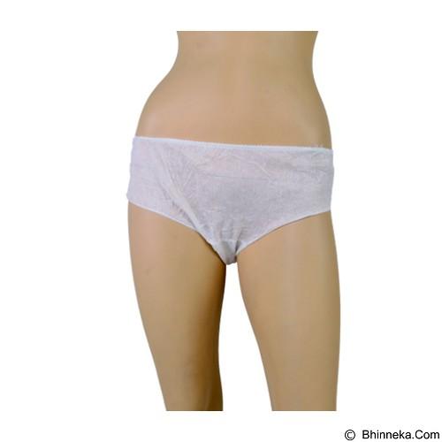 PANTY-O Disposable Viscose Panties Celana Dalam Wanita Size L [PV02BNK] (Merchant) - Celana Dalam Wanita