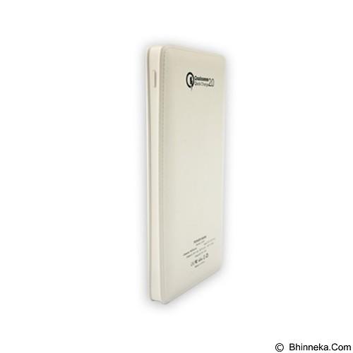 PANZER Powerbank 10000mAh Fast Charging Qualcomm 2.0 - White (Merchant) - Portable Charger / Power Bank