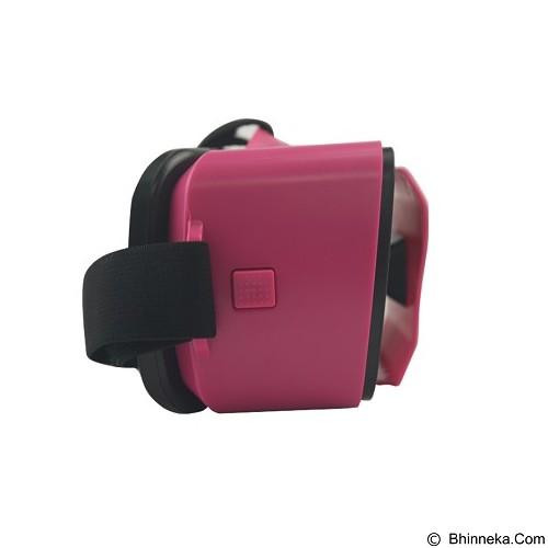 PANZER VR Box Mini Virtual Reality Glasses 3D Mini - Pink (Merchant) - Gadget Activity Device