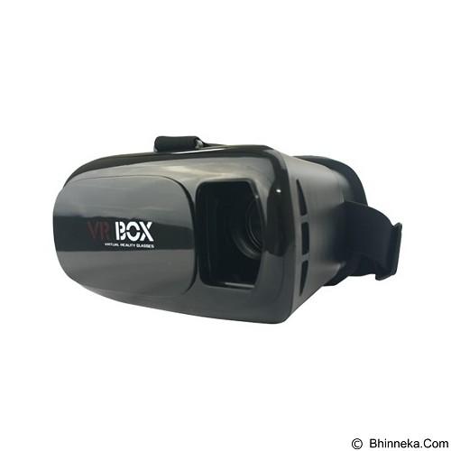 PANZER VR Box Virtual Reality Glasses 3D - Black (Merchant) - Gadget Activity Device